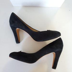 Chloë Sevigny x Opening Ceremony Black Suede Heels